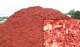Brick Red Mulch